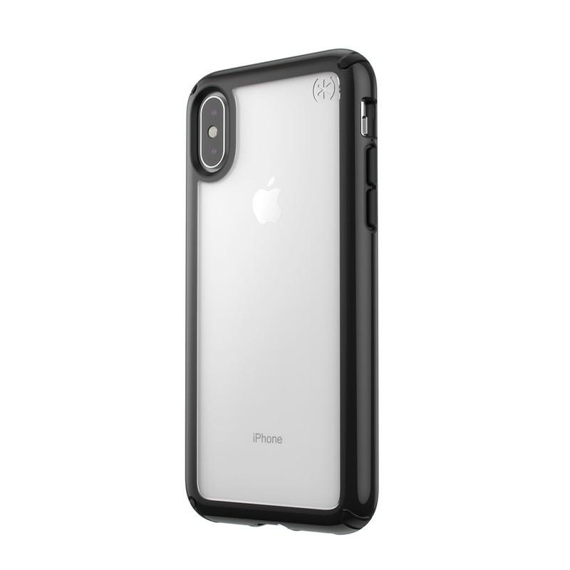Speck Presidio Show iPhone X/XS Hoesje Zwart/Transparant - 3