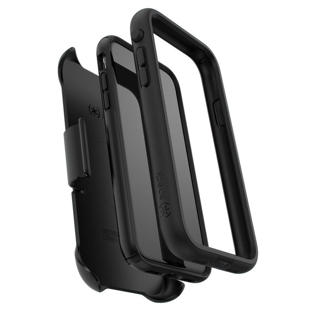 Speck Presidio Ultra iPhone XR Hoes Zwart 03