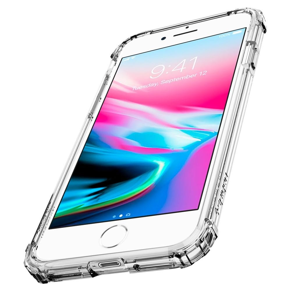 Spigen Crystal Shell iPhone 8/7 Transparant - 3