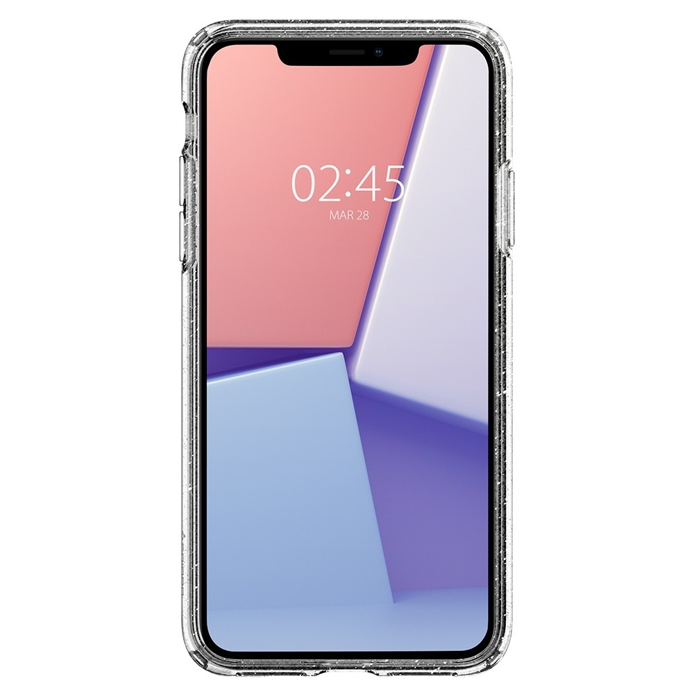 Spigen Liquid Crystal Glitter iPhone 11 Hoesje Quartz - 3