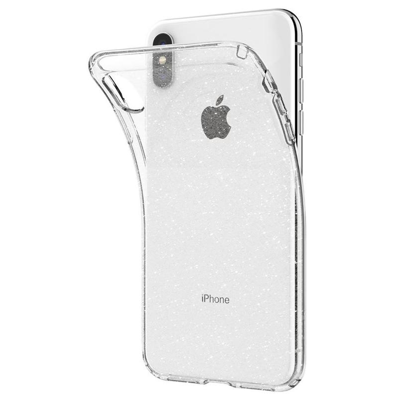 Spigen - Liquid Crystal Glitter Case iPhone XS Max Transparant 03