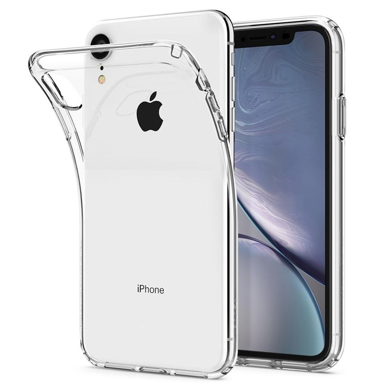 Spigen Liquid Crystal Case iPhone XR Transparant 03
