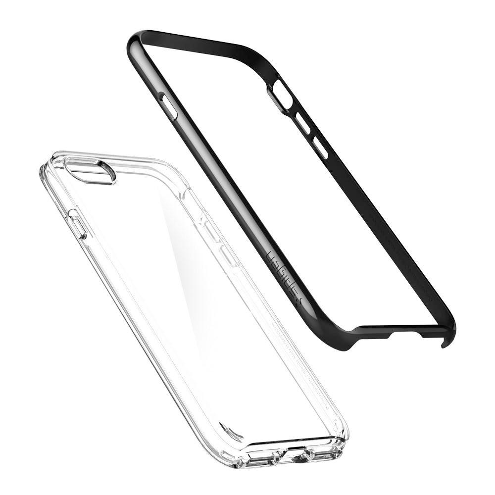 Spigen Neo Hybrid Crystal Phone 8/7 Zwart - 3