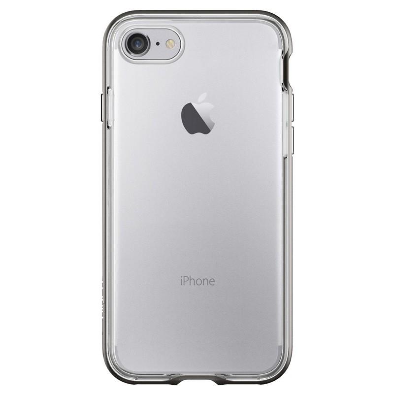 Spigen Neo Hybrid Crystal iPhone 7 Gunmetal/Clear - 3