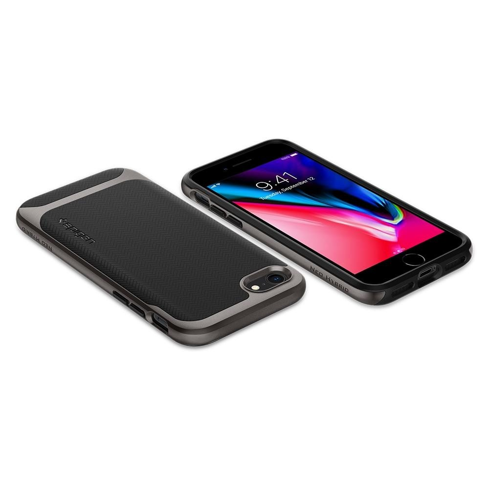 Spigen Neo Hybrid Herringbone Phone 8/7 Gunmetal - 3