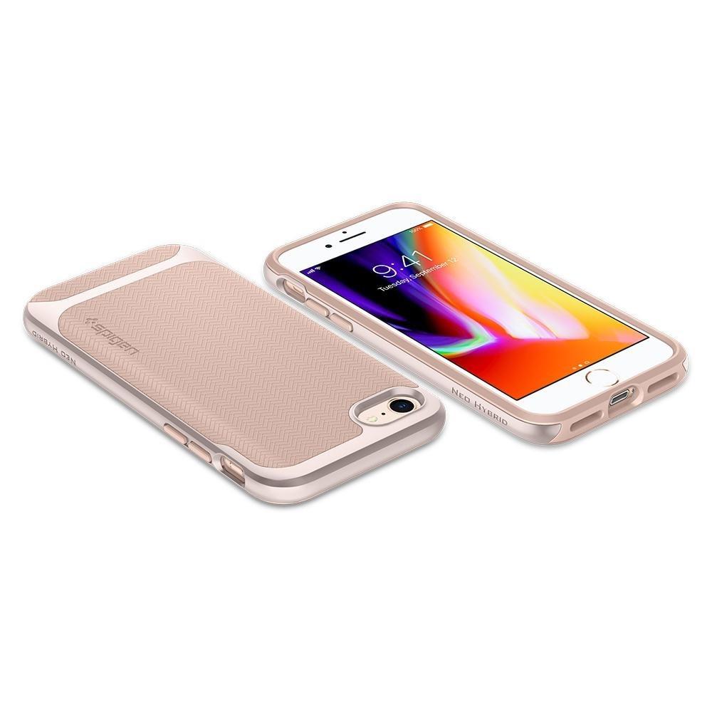 Spigen Neo Hybrid Herringbone Phone 8/7 Pale Dogwood - 3