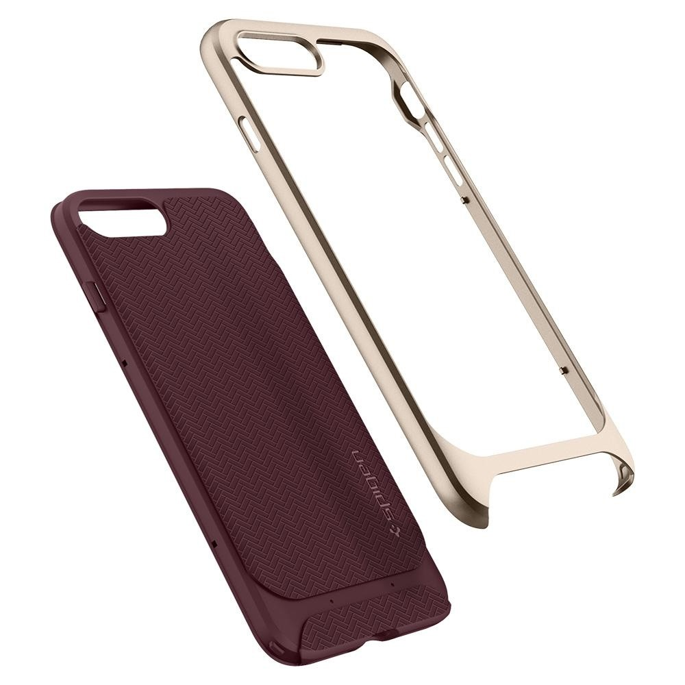 Spigen Neo Hybrid Herringbone iPhone 8 Plus/7 Plus Burgundy - 3