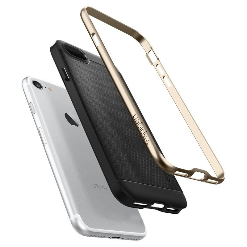 Spigen Neo Hybrid iPhone 7 Champagne Gold/Black - 3