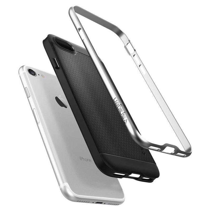 Spigen Neo Hybrid iPhone 7 Satin Silver/Black - 3