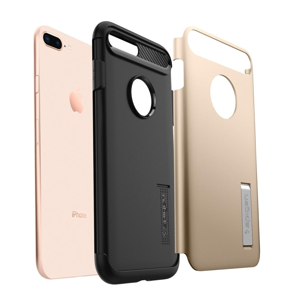 Spigen Slim Armor Case iPhone 8 Plus/7 Plus Champagne - 3