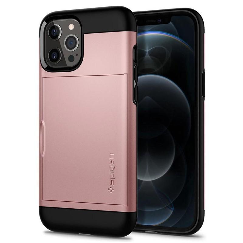 Spigen Slim Armor CS iPhone 12 Pro Max 6.7 inch Rose Gold 03