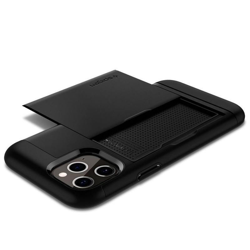 Spigen - Slim Armor CS iPhone 12 / iPhone 12 Pro 6.1 inch zwart 03