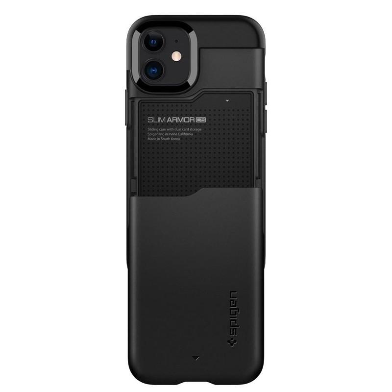 Spigen - Slim Armor CS iPhone 12 Mini 5.4 inch zwart 03
