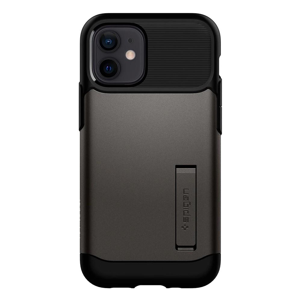 Spigen Slim Armor Case iPhone 12 Mini Gunmetal - 3