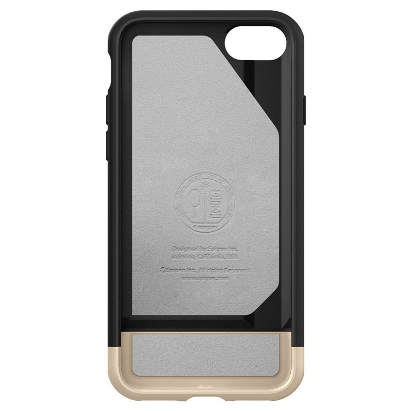 Spigen Style Armor Case iPhone 7 Black/Gold - 3