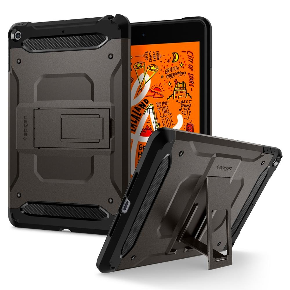 Spigen Tough Armor TECH iPad Mini 5 Gunmetal - 3