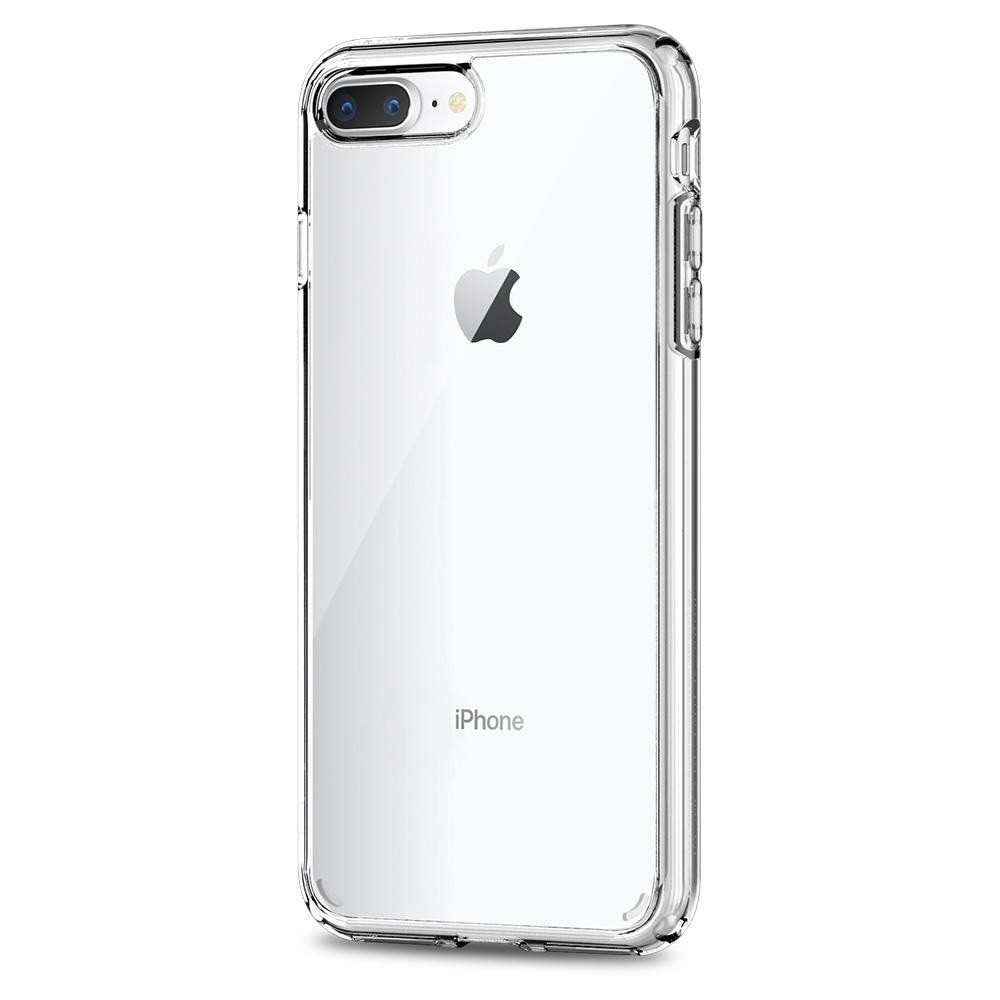 Spigen Ultra Hybrid 2 Case  iPhone 8 Plus/7 Plus Transparant - 3