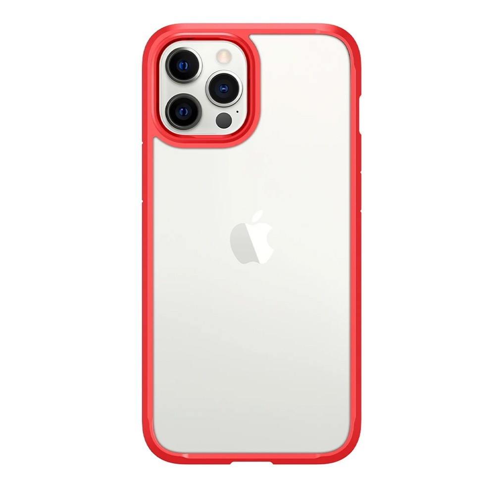 Spigen Ultra Hybrid Case iPhone 12 Pro Max Rood - 3