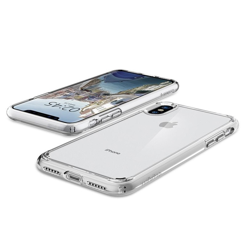 Spigen - Ultra Hybrid iPhone X/Xs Hoesje Clear 03