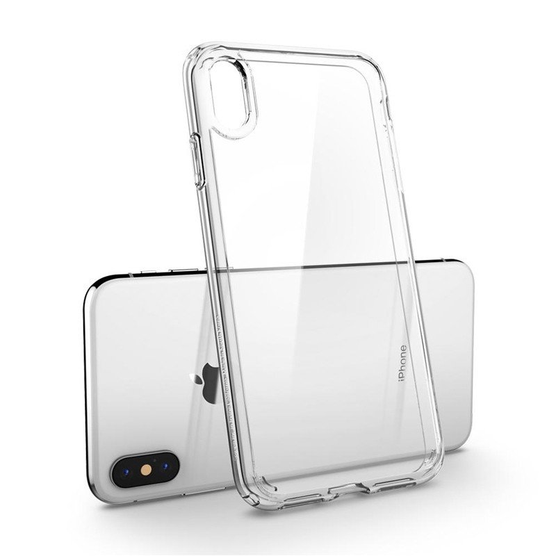 Spigen Ultra Hybrid iPhone XS Max Hoesje transparant 03