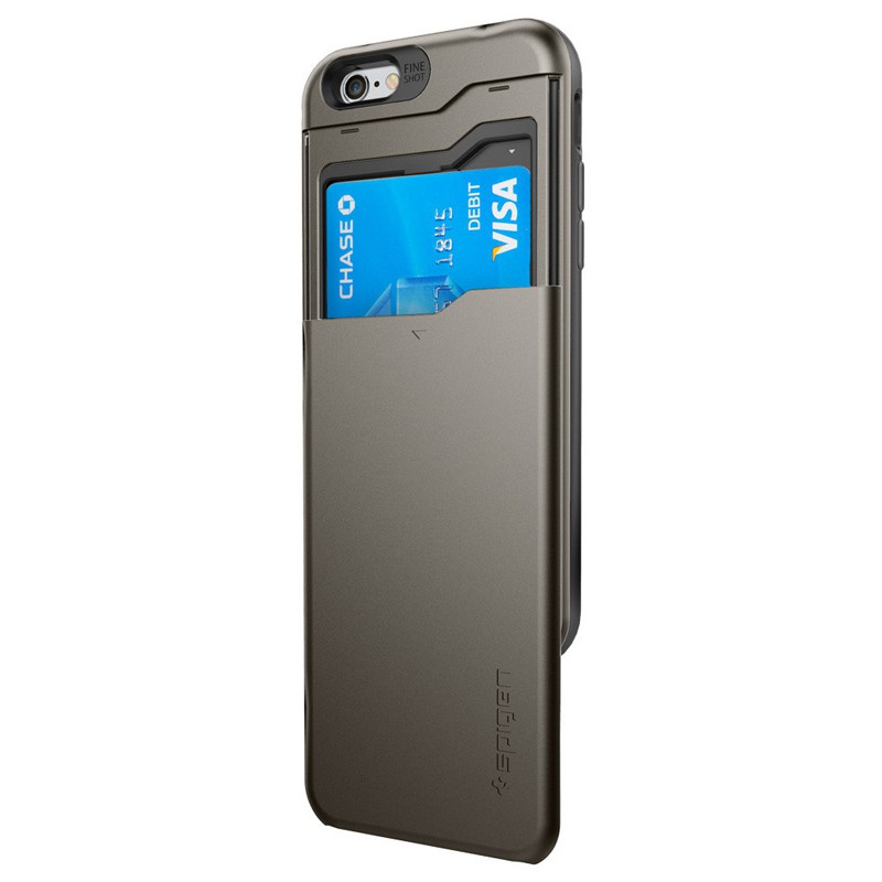 Spigen Slim Armor CS iPhone 6/6S Gunmetal - 3