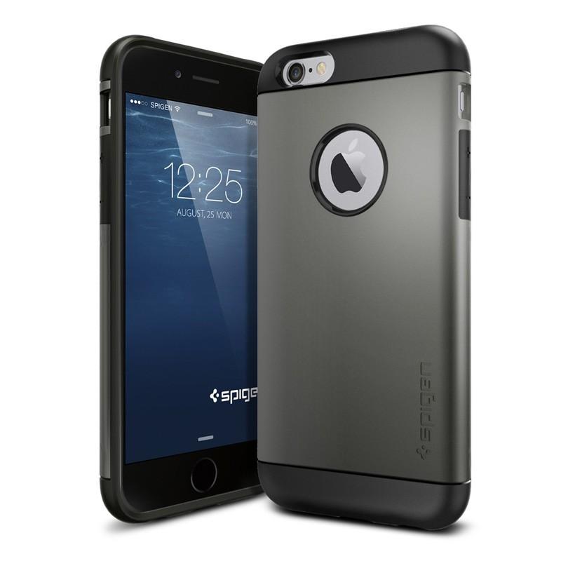 Spigen Slim Armor Case iPhone 6 Gunmetal - 3