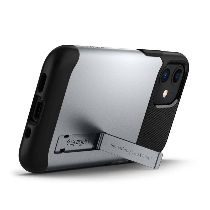 Spigen Slim Armor iPhone 12 Pro Max 6.7 inch Zilver 03