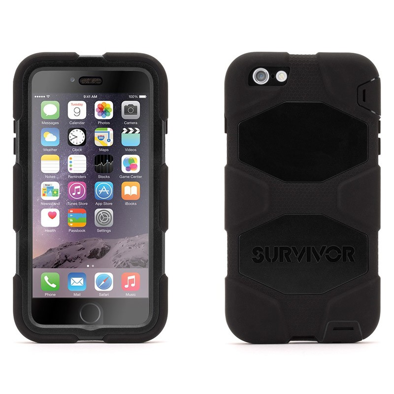 Griffin Survivor Case All Terrain iPhone 6 Plus Black - 3