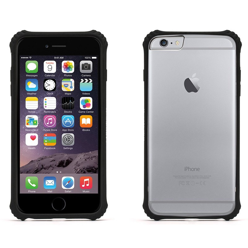 Griffin Survivor Clear iPhone 6 Plus Black - 3