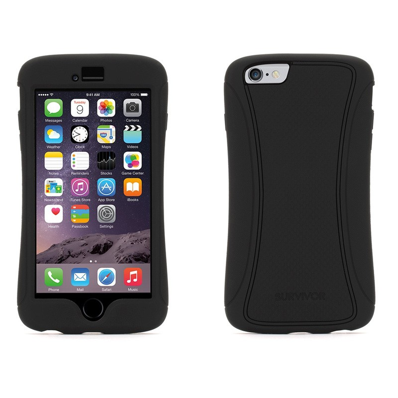 Griffin Survivor Slim iPhone 6 Plus Black - 3