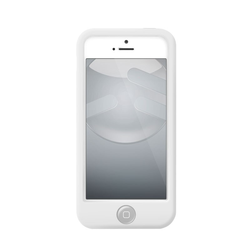 Switcheasy Silicon Colors iPhone 5 (white) 03