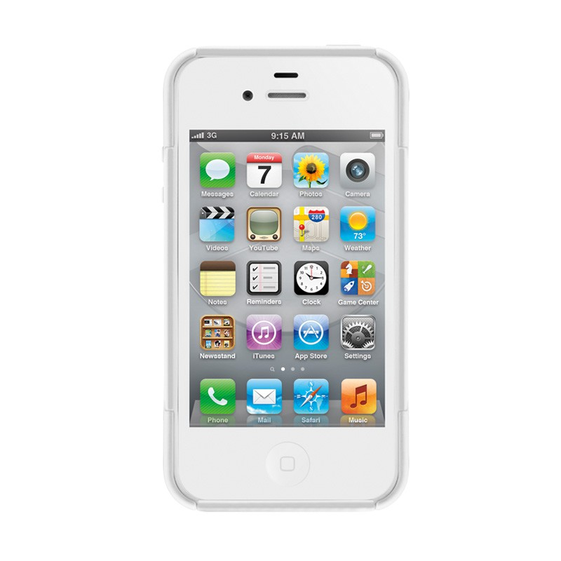 SwitchEasy Rebel X iPhone 4(S) White - 3