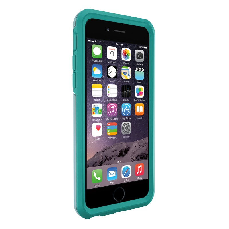 OtterBox Symmetry iPhone 6 Aqua Dot - 3