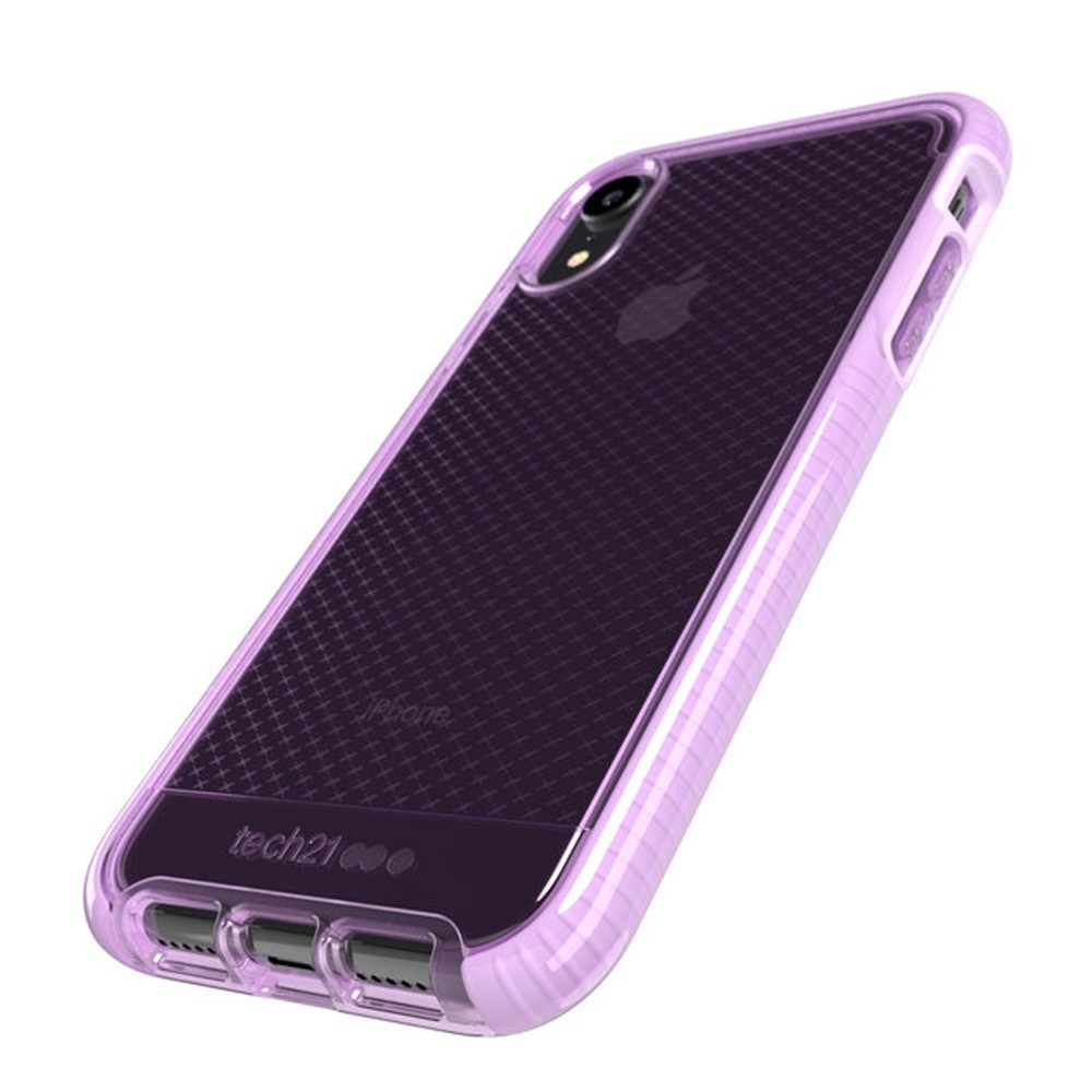 Tech21 Evo Check iPhone XR Hoesje Orchid 03