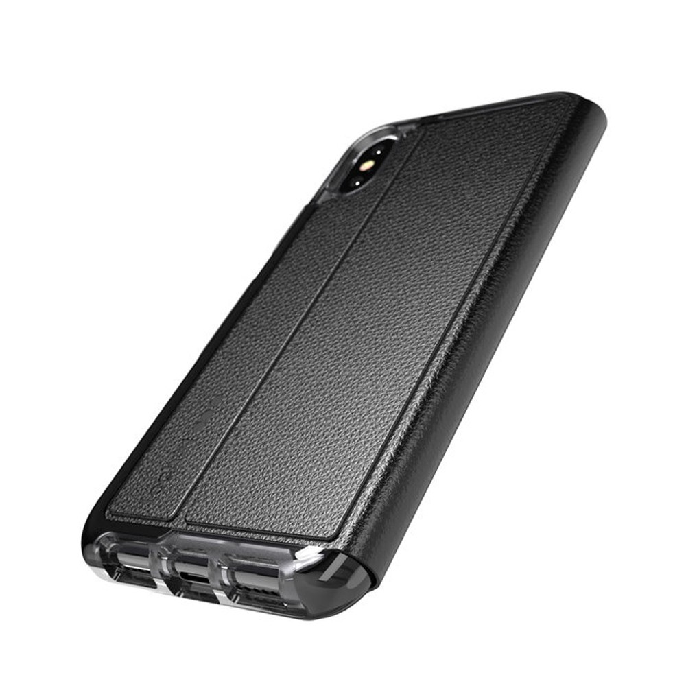 Tech21 Evo Wallet iPhone X/XS Hoes Zwart 03