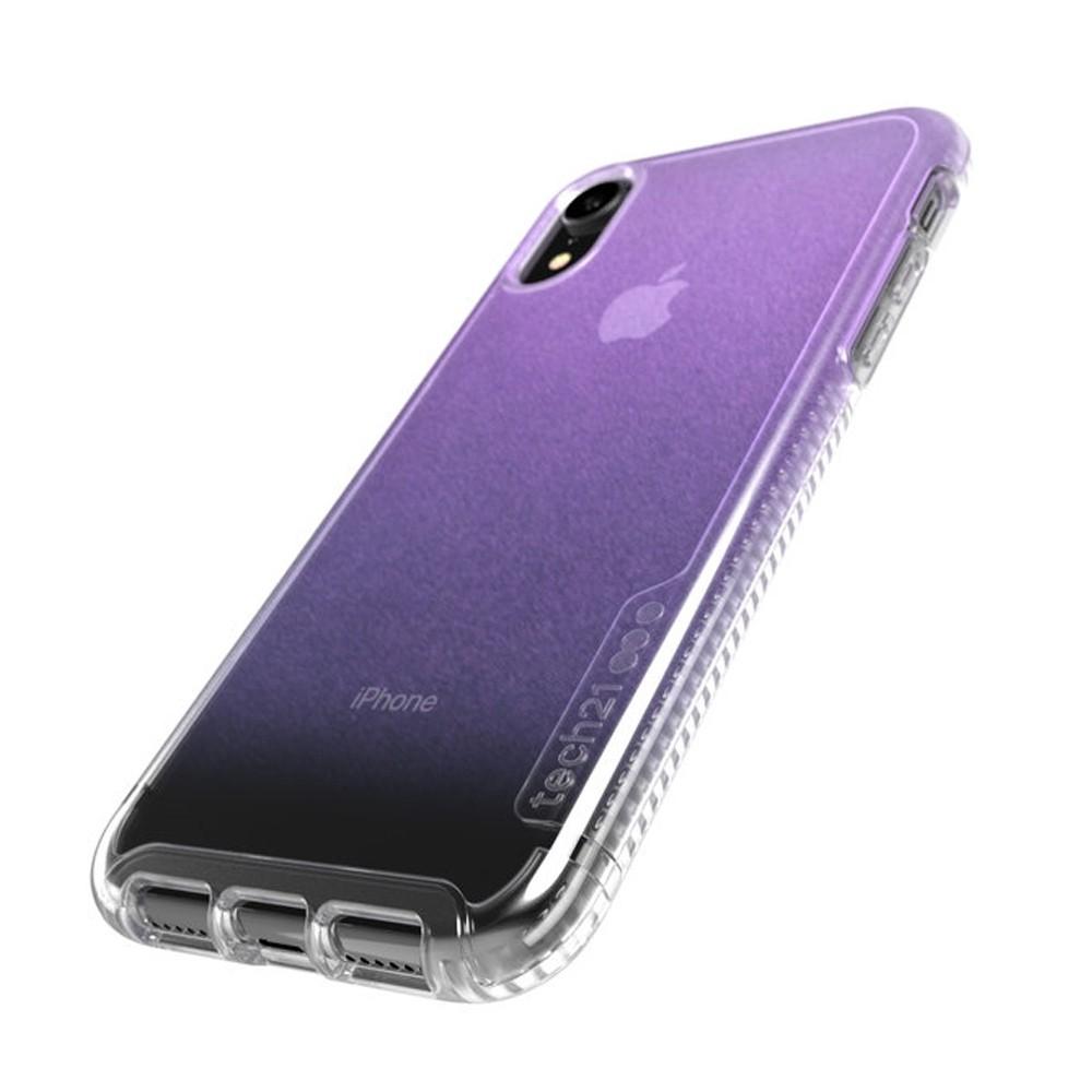 Tech21 Pure Shimmer iPhone XR Hoesje Roze Transparant 03