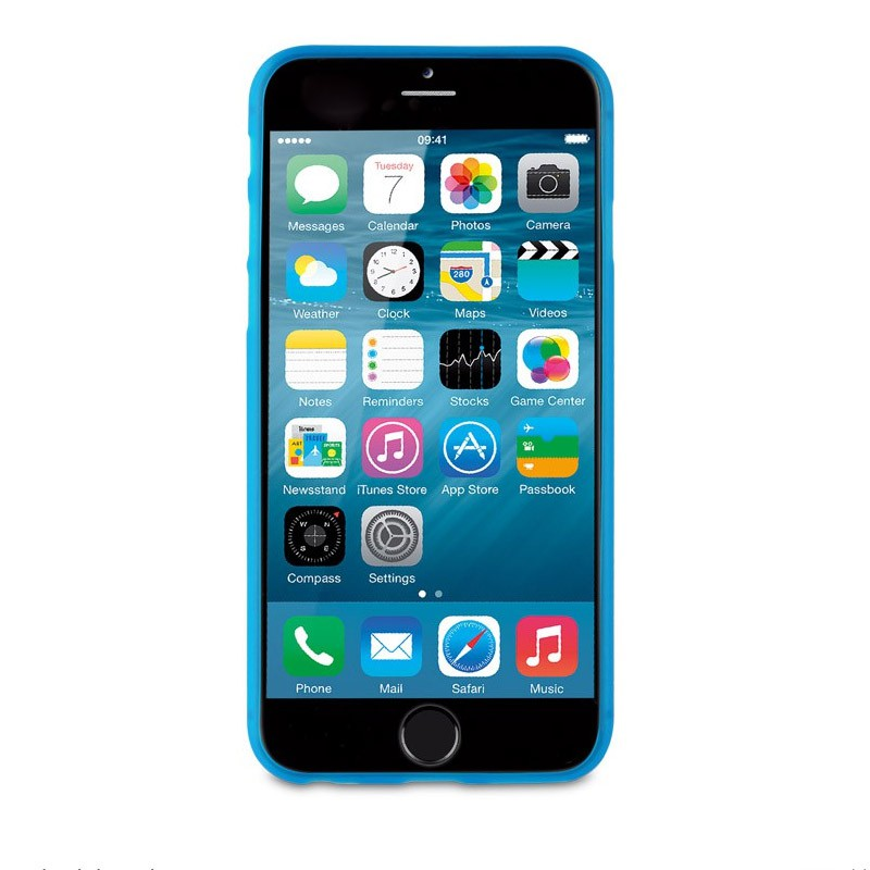 Muvit ThinGel iPhone 6 Plus Blue - 3
