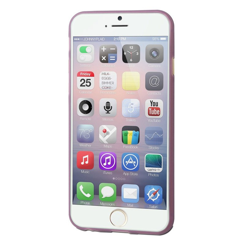 Muvit ThinGel iPhone 6 Plus Purple - 3