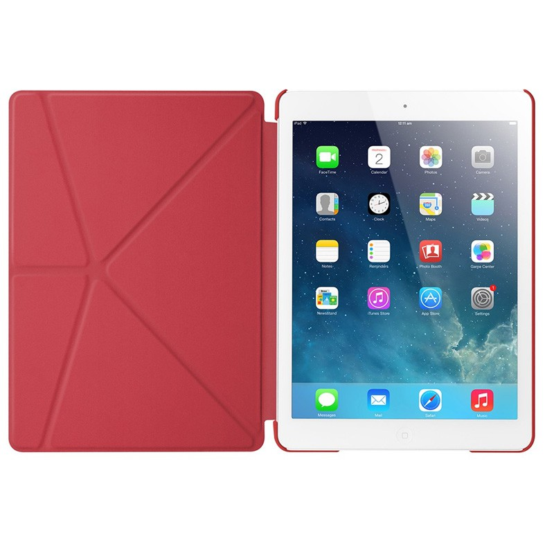 LAUT Trifold iPad Air 2 Red - 3