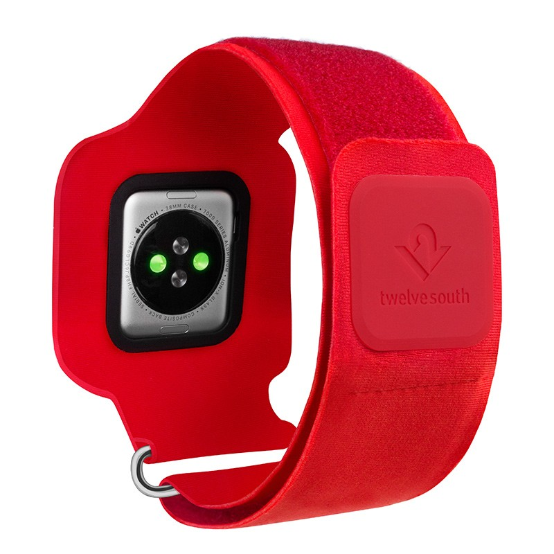 Twelve South - ActionSleeve voor Apple Watch 38mm Red 03