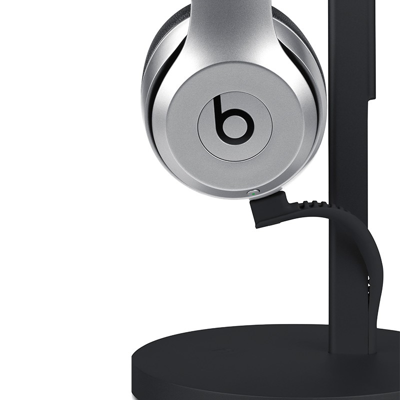 Twelve South - Fermata Headphone Charging Stand Black 03