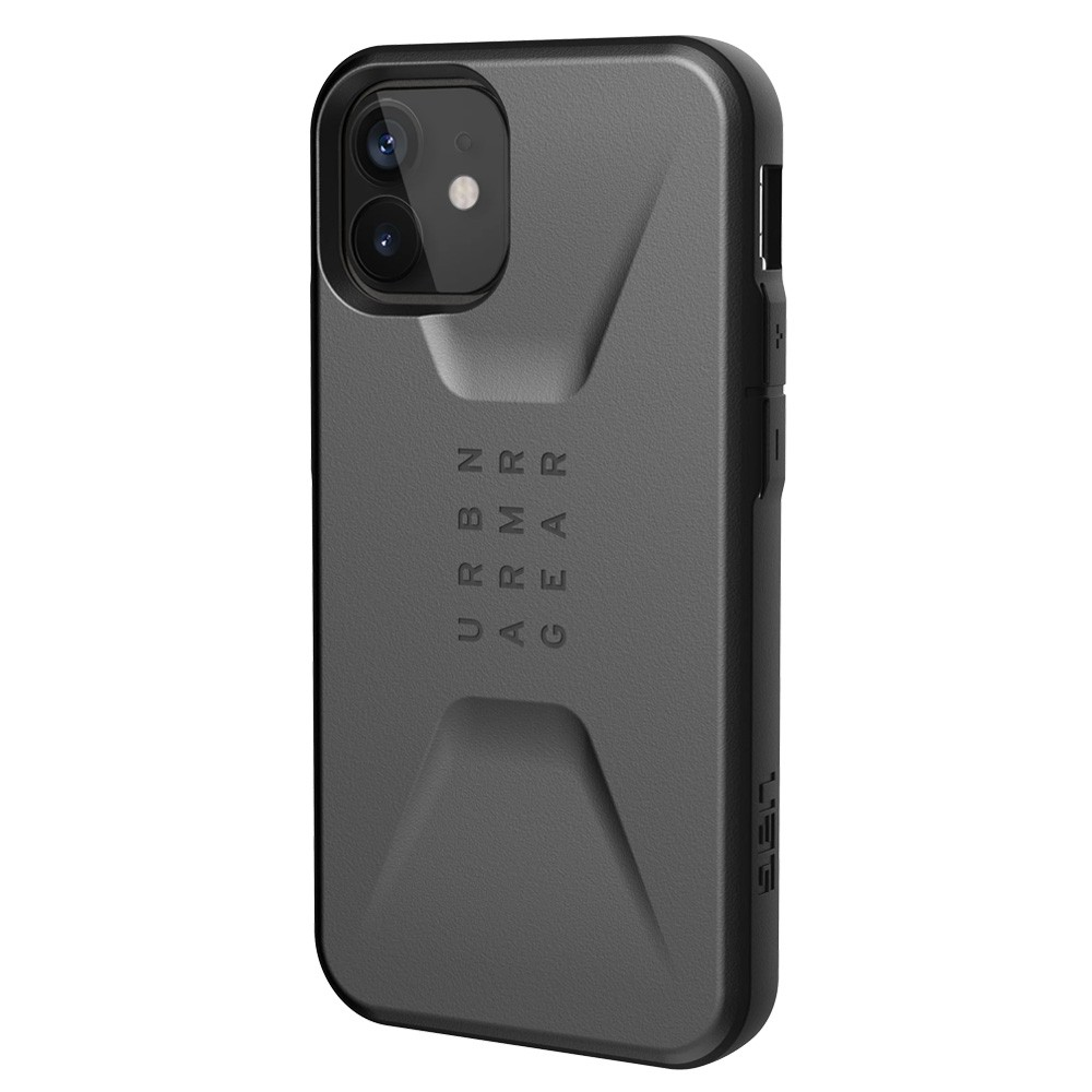 UAG Civilian iPhone 12 / 12 Pro 6.1 inch Zilver - 1