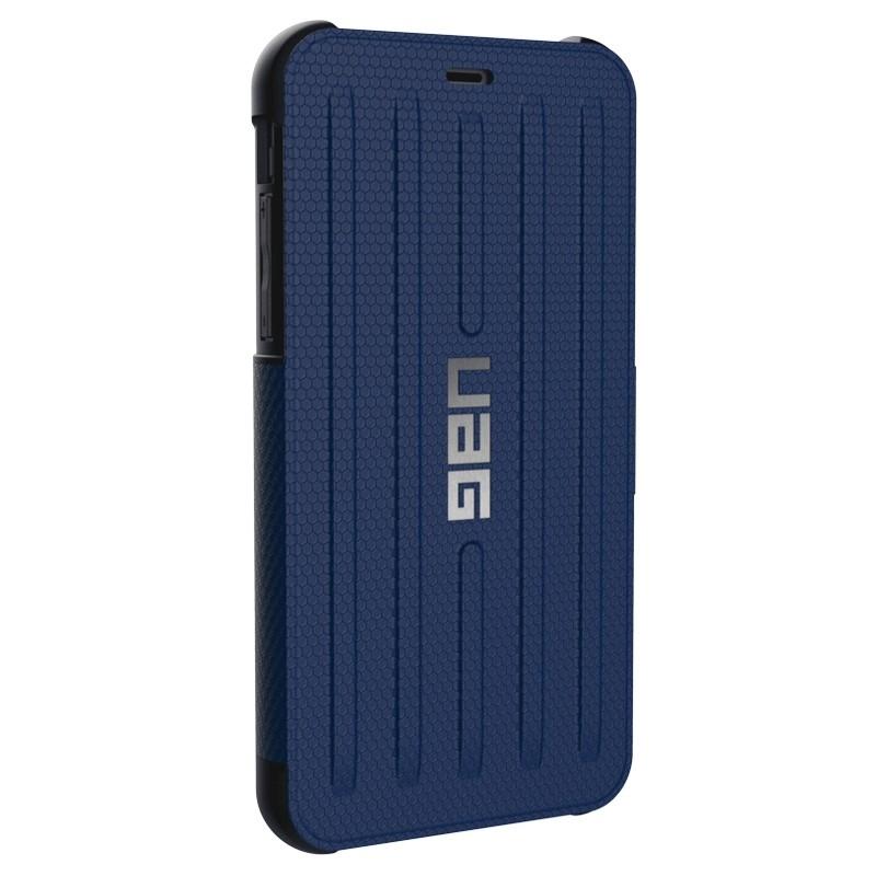 UAG Metropolis iPhone XR Folio Hoes Blauw 03