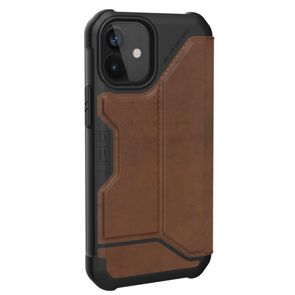 UAG Metropolis iPhone 12 Mini Leather Brown - 3