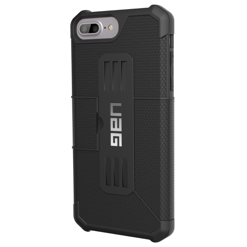 UAG - Metropolis iPhone 7/6S/6 Plus Folio Black 03