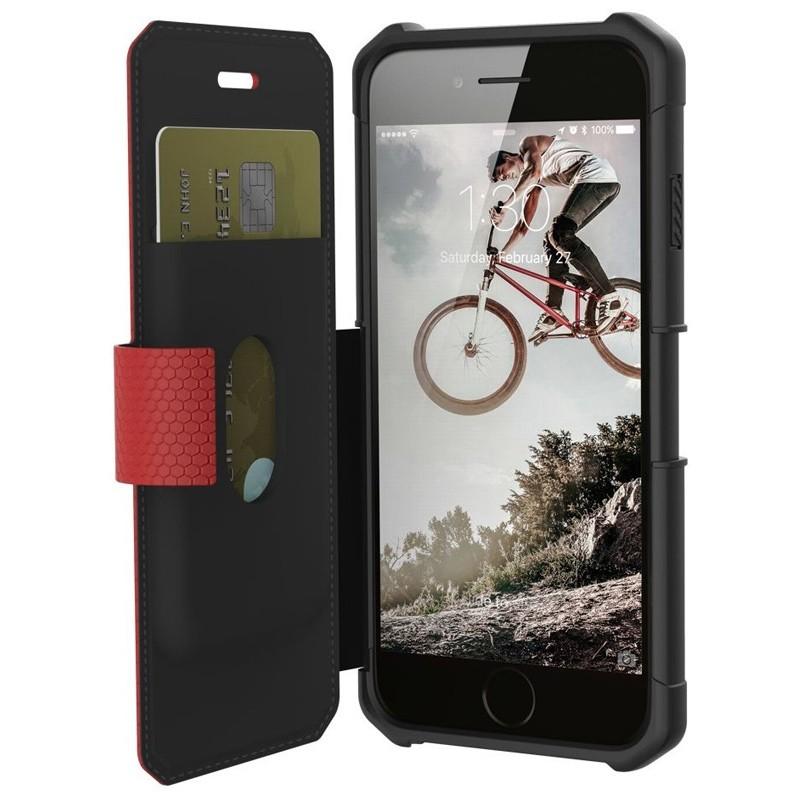 UAG - Metropolis iPhone 7/6S/6 Folio hoes Red 03