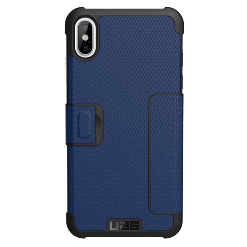 UAG Metropolis iPhone XS Max Hoesje Cobalt Blue 02