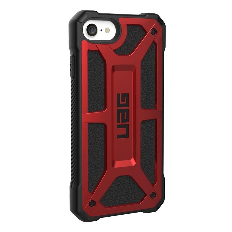 UAG Monarch iPhone SE (2020)/8/7/6S/6 rood-zwart 03