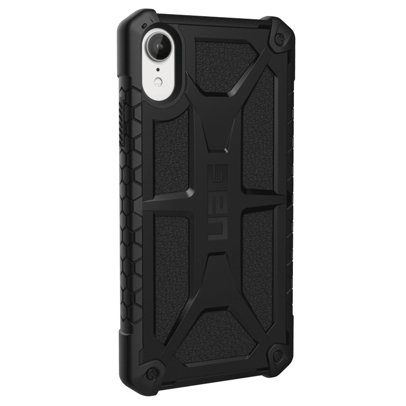 UAG Monarch iPhone XR Hoes Zwart 03