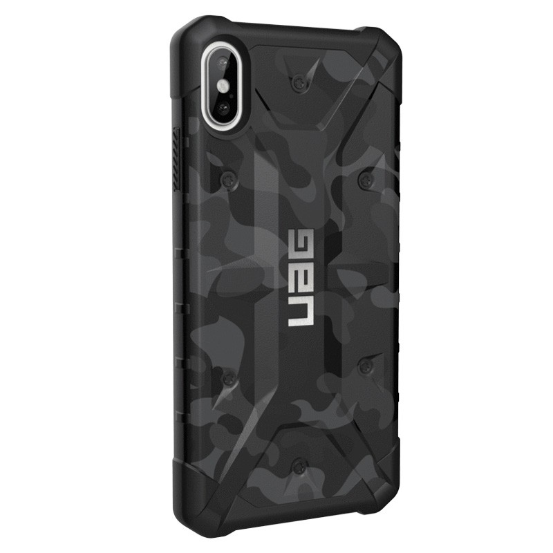 UAG Pathfinder SE Camo iPhone XS Max Midnight - 3